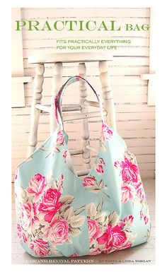 Pracitcal Bag sewing pattern by Tanya Whelan, via Flickr