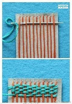 weaving of carpet