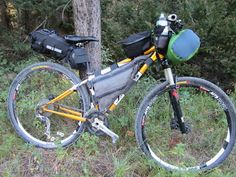 My Fitz-Barn bike fully loaded on a test overnighter.