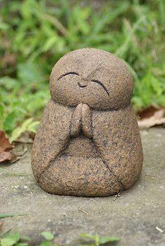 Jizo bosatsu. PSL-Sit-Ksitigarbha-Handmade-statue-buddha-jizo