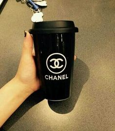 Chanel coffee cup