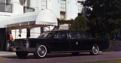 1967-9 Lincoln Continental Presidential Limousine; used by Lyndon B. Johnson and Richard Nixon