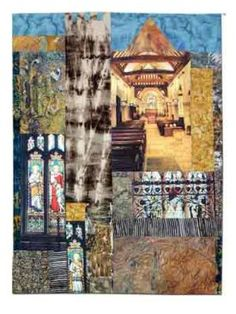 L'artiste du vendredi : Sandra Meech Building Drawing, Building Art, Owl Bags, Sense Of Place, Gcse Art, Environmental Art, Textile Artists, Photomontage, Art Google