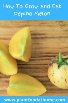Ever wondered how to eat pepino melon? We show you how to eat pepino and how to grow your own pepino melon at home! #howtoeatpepinomelon #pepinomelon #pepino #howtogrowpepinomelon Hardy Meals, Mother Plant, Tomato Cages, Delicious Fruit, Garden Care, Fruit Trees, Fresh Fruit, Herbalism, Seeds