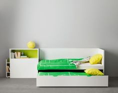 ikea flaxa with headboard storage and trundle bed jensons room pinterest search storage. Black Bedroom Furniture Sets. Home Design Ideas