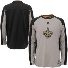 New Orleans Saints Preschool Covert Long Sleeve T-Shirt - Gray - $29.99