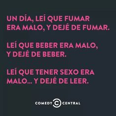, Comedy Central, Humor, Motorcycles, Cars, Frases, Sarcasm, Funny, Stop Drinking, Jokes