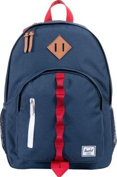 Herschel Supply Co. Parkgate Navy / Red - #backpacks #style #backtoschool #herschelbackpacks