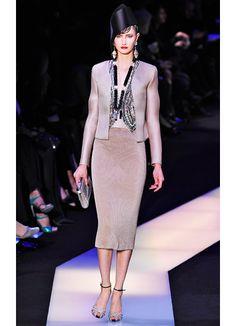 Runway: Armani Privé Spring 2013: Fashion: Wmagazine.com