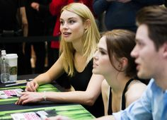 Zoey Deutch, Lucy Fry and Dominic Sherwood meet fans in San Francisco! Check out these cute photos!