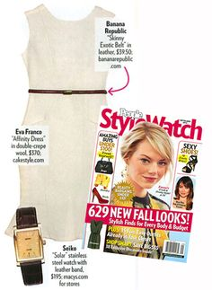 We're so excited to be featured in the September issue of People StyleWatch!