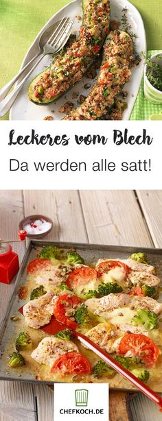 Sattmacher from the sheet - Weight Watcher, Wiener Schnitzel, Pampered Chef, Vegan Desserts, Finger Foods, Meal Prep, Good Food, Low Carb, Easy Meals