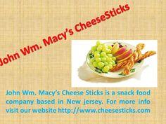 John Wm. Macy's CheeseSticks #Snack #Food