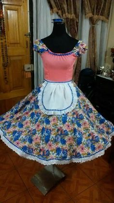 Summer Dresses, Chile, Casual, Fashion, Folklorico Dresses, Models, Briefs, Costumes, Ethnic Dress