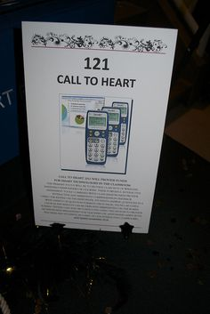 Classroom Charity Auction Item - Call to Heart or Gift of the Hear. Parents are asked to give to the school not for the value of the item they are bidding for but to give from the heart.