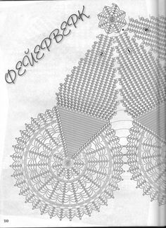 Szydełkomania: Piekna serweta
