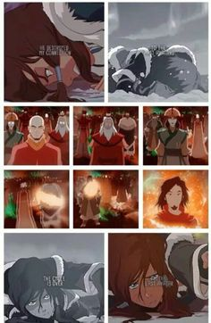 This is so sad. I hate people that hate on Korra. She is an amazing Avatar. She wasn't even out of isolation for a week and she had to defeat an evil Bloodbender who could take perils bending