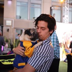 """Cole Sprouse """"The bromance of our generation"""" - Doug The Pug via twitter"""