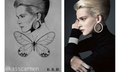 OH! WE INSPIRE ART We discovered our campaign with Danish super-star-model Carmen Kass has inspired young artists!