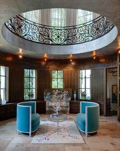 Atlanta Mediterranean Home Design -  by Tamara Bickley Design