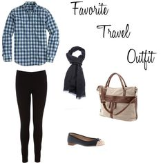 Favorite Travel Outfit by treasuretromp, via Polyvore