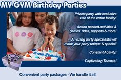 Birthday Parties At MY GYM My Gym San Jose Ideas Anniversary