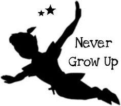 peter pan tattoo never grow up