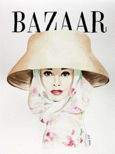Harper's Bazaar April 1956 | MODESQUISSE