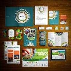 Caritas Circo Comunidad Creativa #branding #identity #design