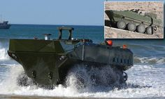 US Marines to receive new amphibious assault vehicle #DailyMail