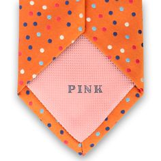 Sun Spot Woven Tie by Thomas Pink Sun Spot, Pink Club, Tie Rack, Thomas Pink, World's Most Beautiful, Orange Is The New Black, Casual Shirts, Ties, Men's Fashion