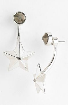 Robert Rose 'Star' Faux Plug Earrings available at #Nordstrom