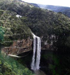 Cascata do Caracol, em Canela (RS), por Maria Luísa Gontijo.  #Natureza #nature #waterfall #RioGrandedoSul #Brasil #picture #fotografia #Photo