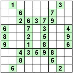 Number Logic Puzzles: 23086 - Sudoku size 9