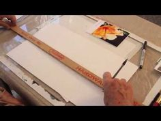 Transferring Images for Painting - YouTube