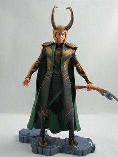 Figura Los Vengadores (The Avengers). Loki, Marvel Legends, 15cm
