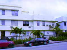 """529-35 15th Street - The Cameo Apartments - Built: 1939 - Style: Art Deco - Google """"anaglyph glasses"""" to view in 3D!"""