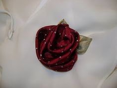 Recycle Men's Neckties into a Rose