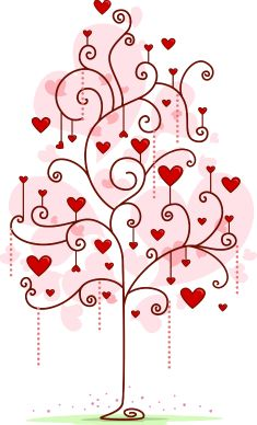 @complicolor tree of love Printable pages and Coloring books for grown-ups at: http://www.complicatedcoloring.com