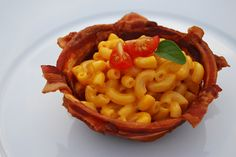 Bacon Mac and Cheese Cups!