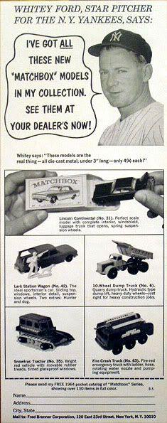 Lesney Matchbox adverts