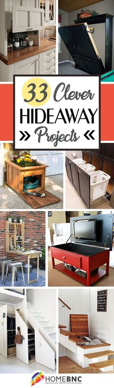 Clever Hideaway Ideas