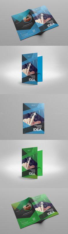 Corporate Presentation Folder. Stationery Templates. $7.00