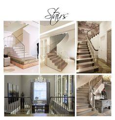 stairs by veryvlada on Polyvore featuring interior, interiors, interior design, дом, home decor, interior decorating and 3.1 Phillip Lim