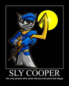 SLY COOPER by MRBUCKETGUY.deviantart.com on @deviantART