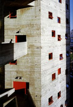Lina Bo Bardi - SESC, the conversion of an old factory complex into a cultural and sports venue, São Paulo 1982. Scan from here.