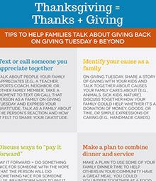 Thanksgiving on #GivingTuesday and beyond