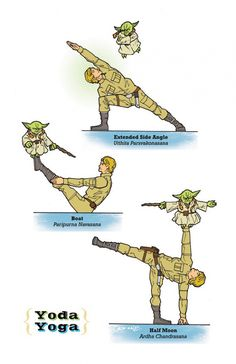 Star Wars Yoga. More images when you click on it!