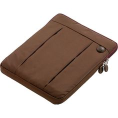 Go Travel Padded Tablet Case: Brown   $33.95