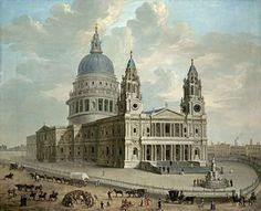 View of St. Pauls Cathedral